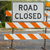 Road-closed-signs-detour-traffic-temporary