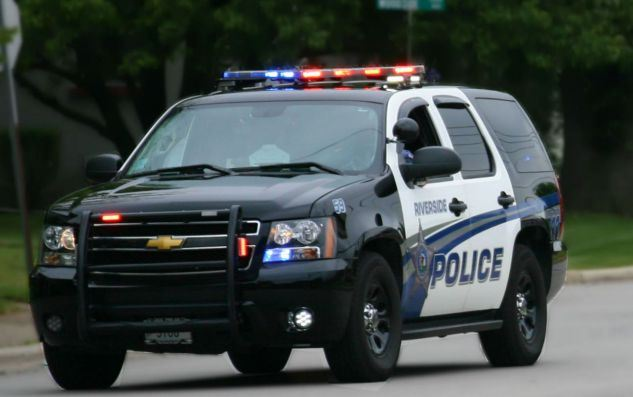 Riverside Police Department Vehicle