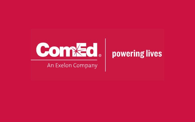 ComEd Powering Lives color logo