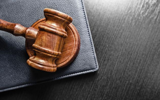Gavel-over-black-background