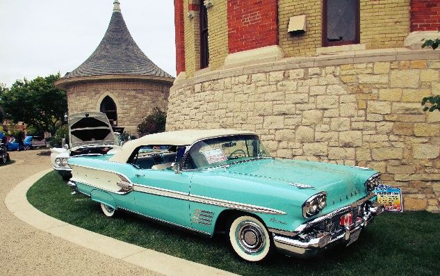 Riverside IL - Car show pics