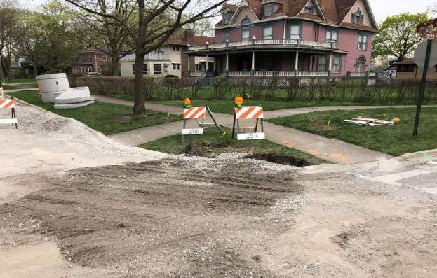 Herrick Road Repaving Photo - 4-26-2019