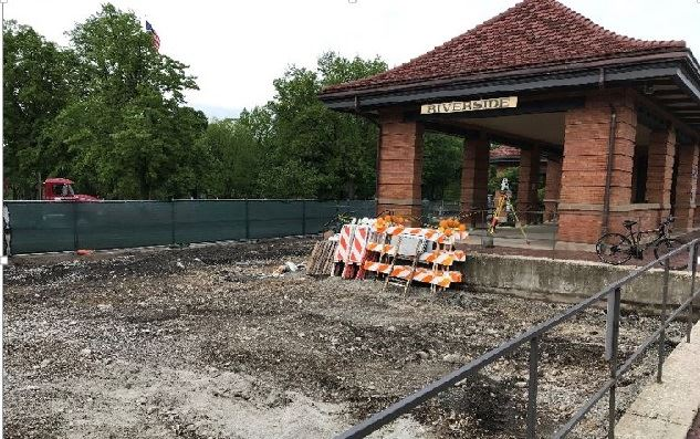 Metra Pedestrian Access Excavation - 5-24-2019