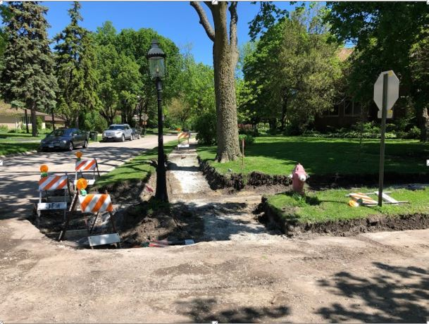Herrick Road Repaving Photo - 5-24-2019