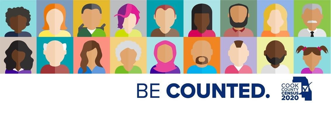 Census Graphic - Be Counted