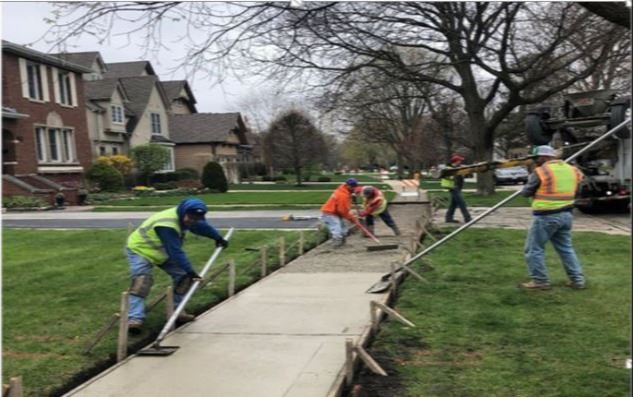 4-24-2020 Selborne Road Sidewalk Replacement