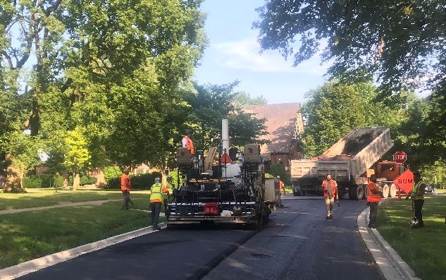 Selborne Road Repaving - Final Asphalt - 7-2-2020
