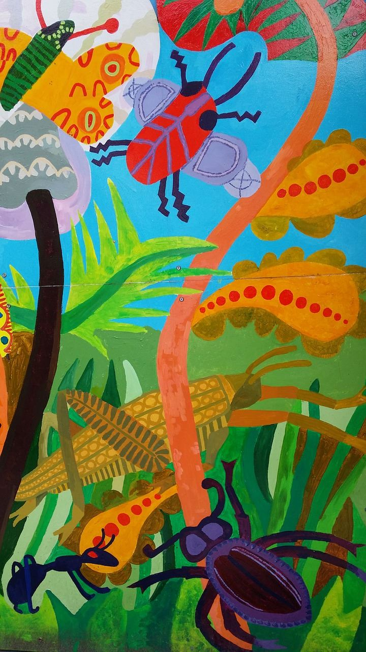 Mural Made by Kids