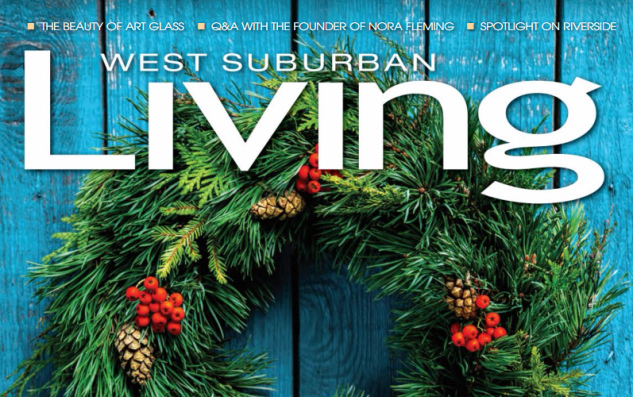 West Suburban Living Magazine Cover